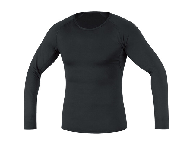GORE RUNNING WEAR Essential Base Layer Thermo Shirt Long Men black